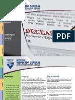 Deceased Lessors Audit USPS