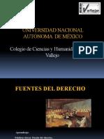 Derecho Fuentes Diapositivas