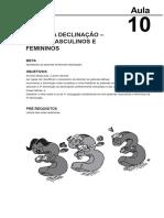 15302324022014Fundamentos de Lingua Latina Aula 10