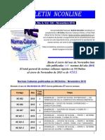 Boletín NCOnline Año XI, No. 9 - Noviembre 2015