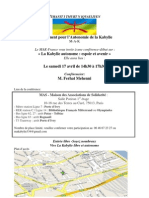 Conference Affiche 17 Avril