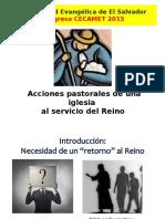 Acciones Pastorales Al Servicio Del Reino