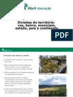 EFI Educação Geografia DivisõesTerritórios