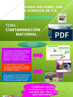 Contaminacion Nacional