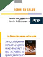 Educacion en Salud 2010