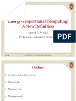Energy-Proportional Computing