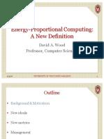 Energy-Proportional Computing