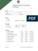 Pauta de Observacion de Funciones Prearticulatorias