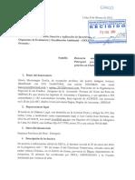 Demandan a Petroperú por derrame de petróleo