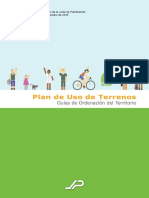Memorial Plan de Uso de Terrenos