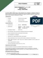 Disco de Desbaste 7x 0.25 x22.2