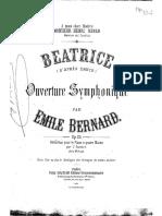 -EBernard Beatrice Op.25 Piano4hands
