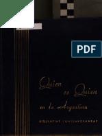 Quien Es Quien en Argentina