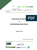 Qualidade Da Gestao e Responsabilidade Social