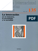 La Innovacion en La Industrial, La Tecnologia y La Sociedad