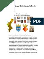 Historia Medieval del Reino de Valencia