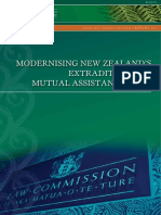NZ Law Commission report into extradition and mutual assistance laws
