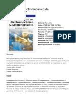 Manual Del Electromecanico de Mantenimiento