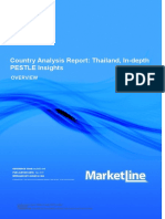 Country Analysis Report- Thailand, In-Depth PESTLE Insights