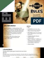 Epic PVP rulebooks (Kickstarter)