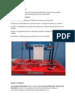 Informe de Hidraulica Presiones piezometricas y calculo de caudales en tuberias de diferente diametro