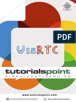 Webrtc Tutorial | Transmission Control Protocol | Multimedia