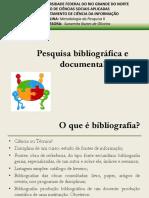 Pesquisa Bibliográfica e Documental