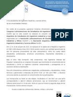 Carta de Invitación CLEIN CAEII Buenos Aires 2010