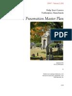 Draft Bridge Street Cemetery Preservation Master Plan