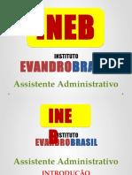 Assistente Administrativo 1 - Introdução