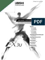 FX3U Series User s Manual - Hardware Editionjy997d16501b