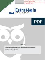 Aula 02 Direito Constitucional TRE-RO