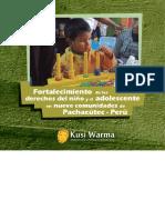 Fortalecimiento de los derechos del niño y el adolescente en nueve comunidades de Pachacutec - Perú