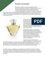 ¿Cómo Elegir El Perfume Conveniente?