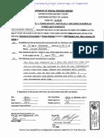 Process Affidavit