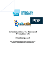 Tekedia Anatomy of a Term Sheet Series Compilation
