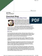 Overclock Shop