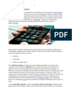 Capacitive Touch Screens nfees