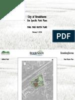 Feb 9, 2016 Brookhaven site specific parks plans