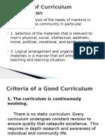 2 Developing a Curriculum