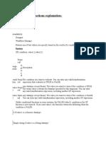 Informatica Functions