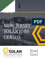 New Jersey Solar Jobs Census 2015