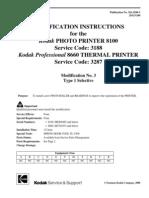 8660, 8100 Modification Instructions, Mod 3