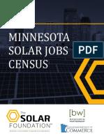 Minnesota Solar Jobs Census 2015