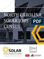 North Carolina Solar Jobs Census 2015