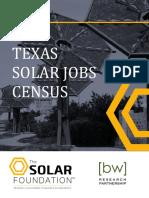 Texas Solar Jobs Census 2015