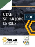 Utah Solar Jobs Census 2015
