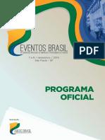Eventos Brasil Programa oficial
