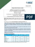 Results Press Release, Earnings Presentation for December 31, 2015 [Result]