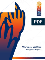 Workers Welfare Progress Report Apr-Dec 2015